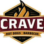 Crave Hot Dogs & Barbecue logo
